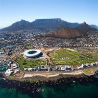 Johannesburg and Cape Town by Air