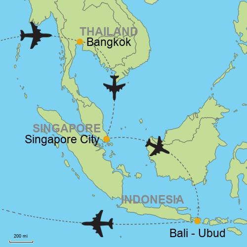 Bangkok - Singapore - Bali - Ubud and Beaches?relItin= Customizable ...