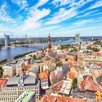Amsterdam - Prague - Riga by Air