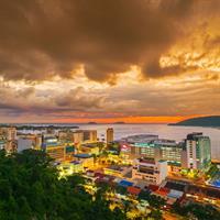 Malacca - Kuala Lumpur - Kota Kinabalu - Kuching