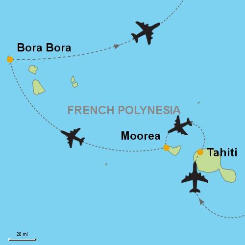 Tahiti - Moorea - Bora Bora Customizable Itinerary from Asia ...
