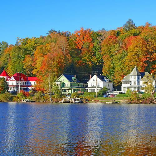 Amazon.com: The Adirondacks - Lake George, New York - Sign