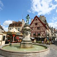 Paris - Strasbourg - Dijon by Train