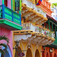 Panama City and Cartagena by Air