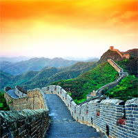 Beijing-Great Wall Sunset