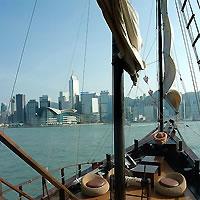 Tokyo and Hong Kong by Air