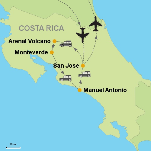 San jose arenal volcano monteverde manuel antonio arenal monteverde manuel antonio gumiabroncs Image collections