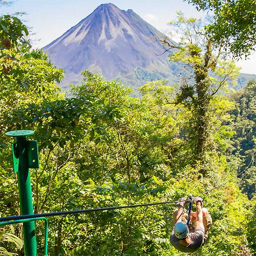 San Jose - Arenal Volcano - Monteverde - Manuel Antonio