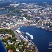 Helsinki - St Petersburg - Moscow by Air