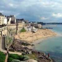 Paris - St Malo - Tours by Train