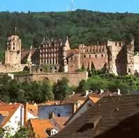 Munich - Heidelburg - Wurzburg - Frankfurt by Train