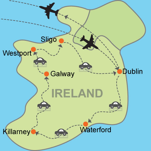 Completely Irish Customizable Itinerary From Tripmasters Com