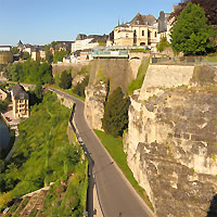Luxembourg and Paris by Train