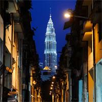 Kuala Lumpur - Penang  - Singapore by Air