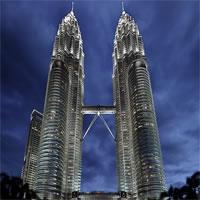 Singapore - Kuala Lumpur - Bali by Air