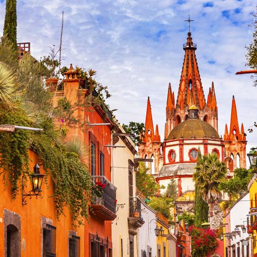 Mexico City - San Miguel de Allende