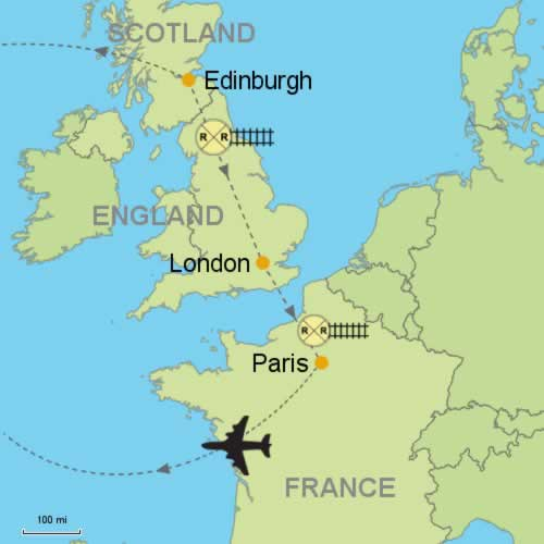 Map Of England Edinburgh.Edinburgh London Paris