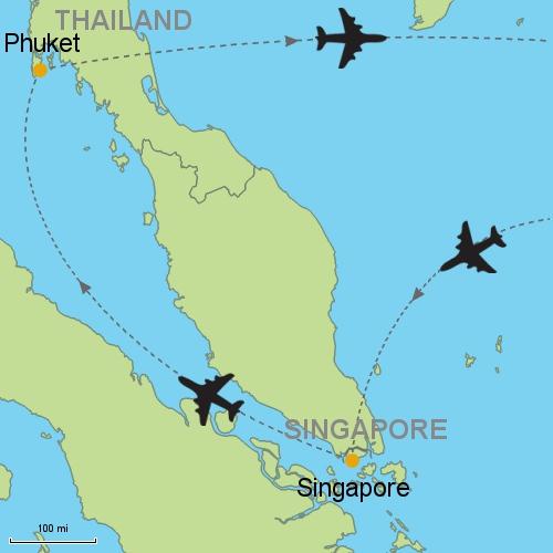 Map Singapore Et