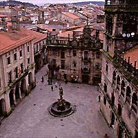 Santiago de Compostela and Madrid by Air