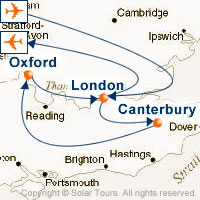 Canterbury Tales And Oxford Town Customizable Itinerary From