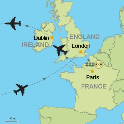 London - Paris and Dublin Customizable Itinerary from Tripmasters.com