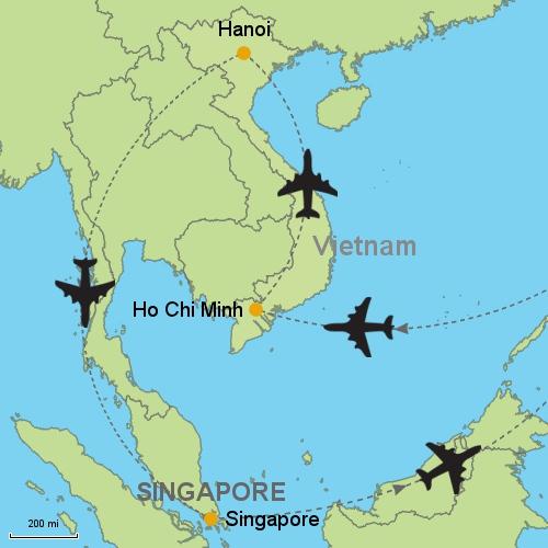 Ho Chi Minh City - Hanoi - Singapore?relItin=41158 Customizable ...
