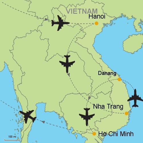 Hanoi Nha Trang Danang Ho Chi Minh Customizable Itinerary From