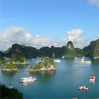 Vietnam - Halong Bay - Cruises