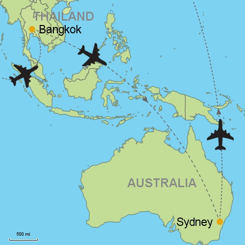 Bangkok - Sydney Customizable Itinerary from Asia.Tripmasters.com