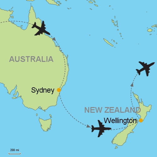 Sydney   Wellington Customizable Itinerary from Asia.Tripmasters.com