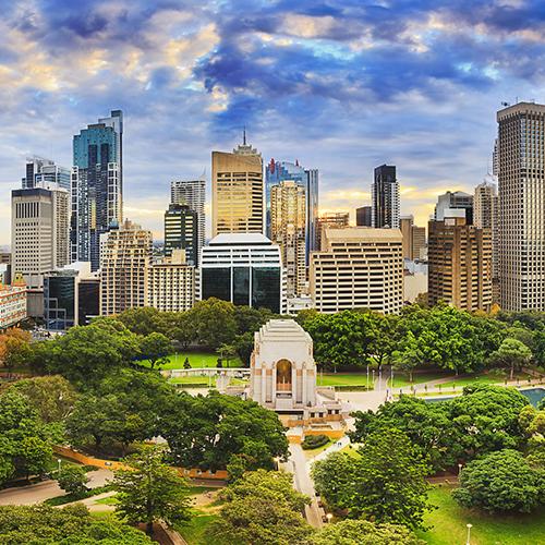 Darwin - Perth - Melbourne - Sydney by Air