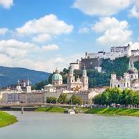 Salzburg - Linz - Vienna - Prague by Train