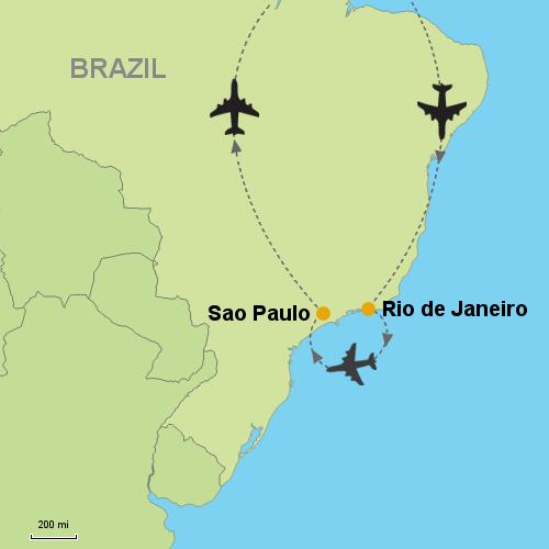 Rio de Janeiro - Sao Paulo- Customizable Itinerary