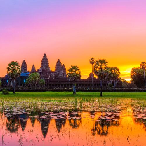 Siem Reap and Luang Prabang by Air