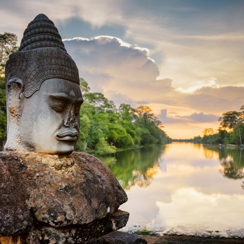 Vientiane and Siem Reap by Air