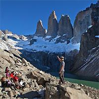 Santiago - Puerto Natales with Torres del Paine tour