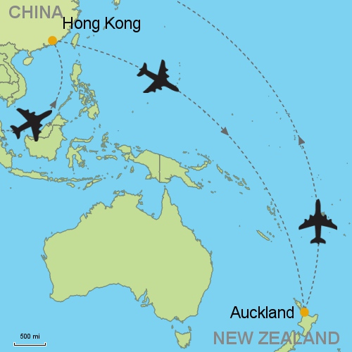 Hong Kong - Auckland Customizable Itinerary from Asia.Tripmasters.com
