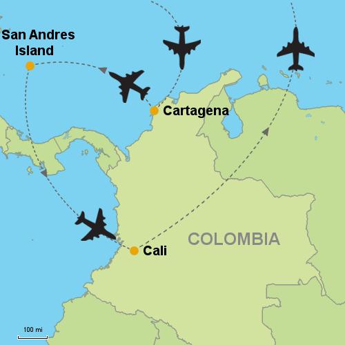 Cartagena san andres island cali customizable itinerary cartagena san andres island cali publicscrutiny Image collections
