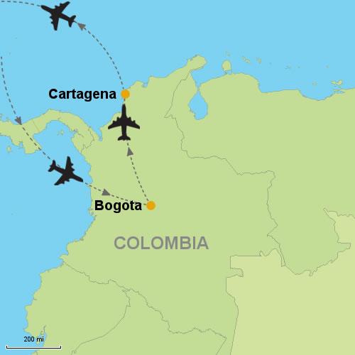 Bogota - Cartagena- Customizable Itinerary on