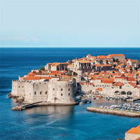 Dubrovnik - Brac Island - Split by Ferry
