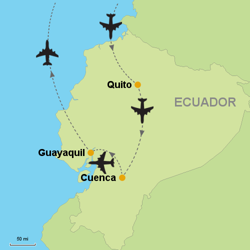Quito cuenca guayaquil customizable itinerary quito cuenca guayaquil gumiabroncs Choice Image