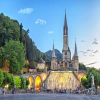 Bordeaux - Pau - Lourdes - Paris by Train