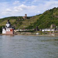 River Rhine and Wines