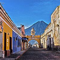 Oaxaca - Mexico City - Antigua - Tikal Pyramids