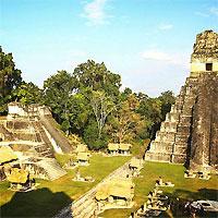 Antigua - Tikal Pyramids
