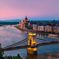 Paris and Budapest by Air