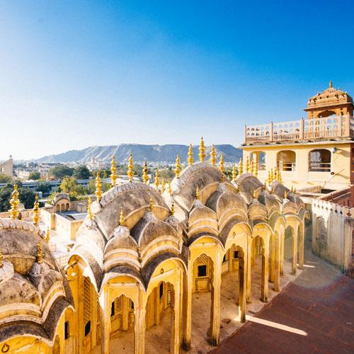 Delhi - Agra - Jaipur - Mumbai
