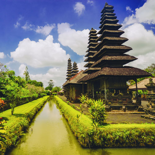 Bali and Jakarta by Air