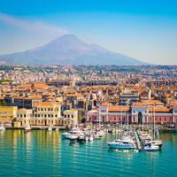Palermo - Agrigento - Taormina - Catania by Train