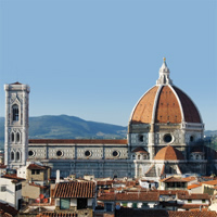 Florence - Siena - Assisi - Rome by Train